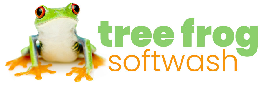 tree frog softwash logo